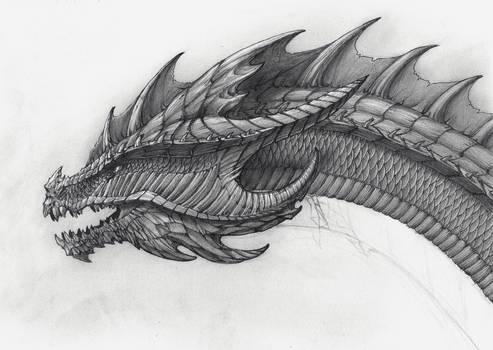 Dharkara Aura -dragon head