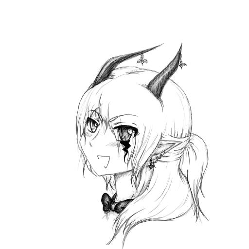 Larx Sketch by SioraiochtPanda