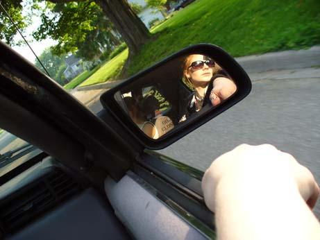 Driving. by darkenedlamb