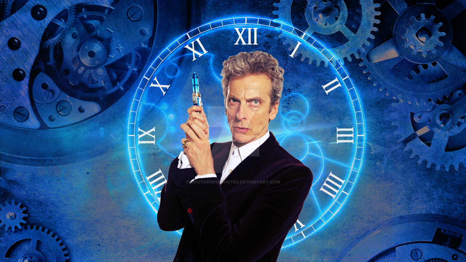 Peter Capaldi Gears By DOCTORWHOQUOTES On DeviantArt