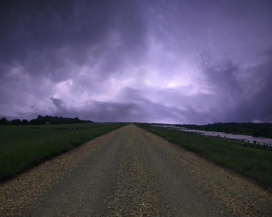 The Road v.2 Premade BG by CelticStrm-Stock