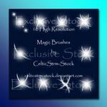 Magic Brushes Set 3 by CelticStrm-Stock