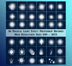 Magic Light Effect Brushes Exclusive Stock