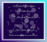Bokeh Brushes Exclusive by CelticStrm-Stock
