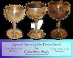 Silver Goblet Precut by CelticStrm-Stock