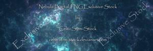 Blue Nebula Fractal Exclusive Stock