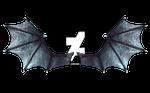 Blue Demon Wings by CelticStrm-Stock