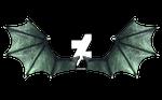 Green Demon Wings by CelticStrm-Stock