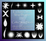 Wisp Brushes by CelticStrm-Stock