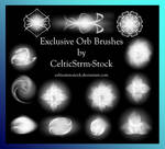 Orb Brushes by CelticStrm-Stock