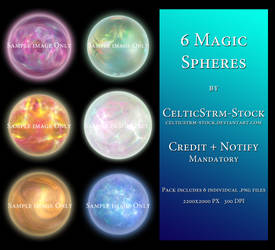 Magic Spheres Pack by CelticStrm-Stock