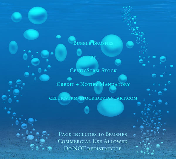Bubble Brushes by CelticStrm-Stock ON SALE! :D by CelticStrm-Stock
