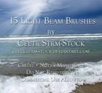 Light Beam Brushes by CelticStrm-Stock