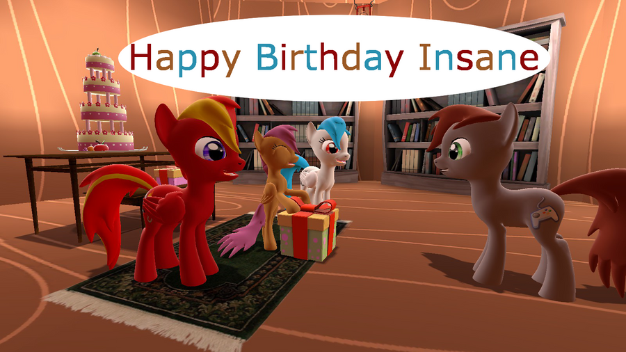 Happy Birthday Insane by mRcracer