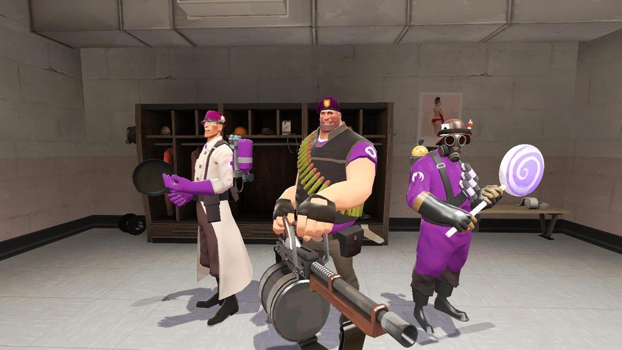 Meet The Purple Team by mRcracer