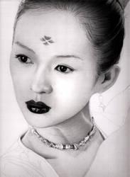 Zhang Ziyi - HOFD WIP 6 by KLSADAKO