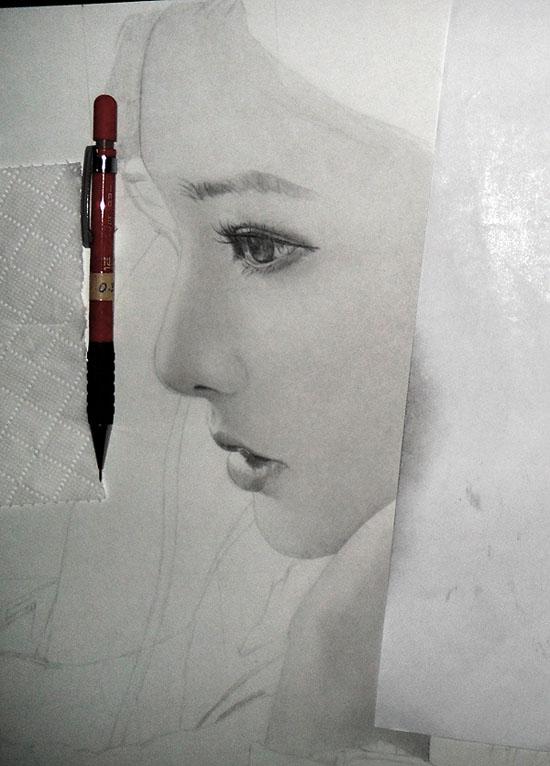 6th Drawing WIP2 2011 by KLSADAKO
