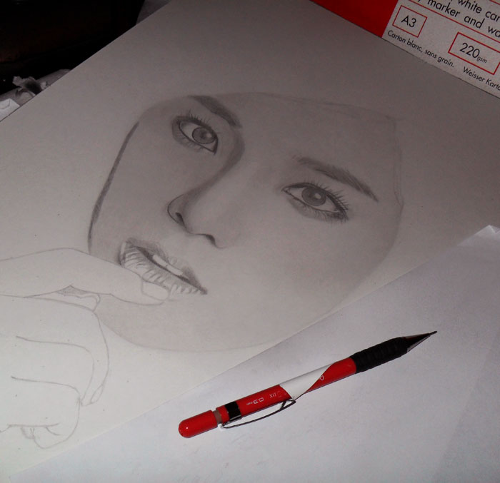 2nd Drawing 2012 WIP1 by KLSADAKO