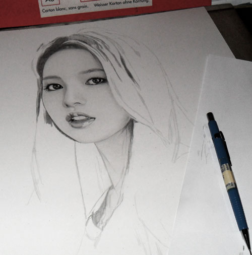 3rd Drawing of 2K13 WIP2 by KLSADAKO