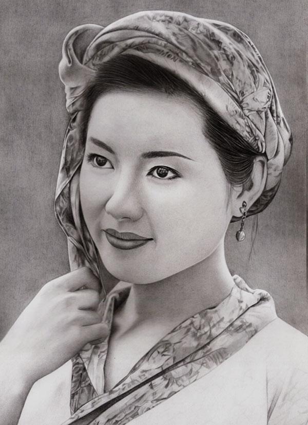 Asian Lady by KLSADAKO