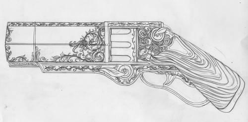 Weaver's Gun by klockquirk