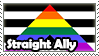 Straight Ally Stamp by MegaMew2000