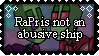 [Stamp] RaPr is not abusive by MegaMew2000