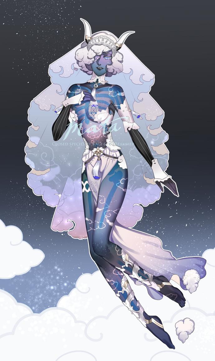 [ CLOSED ] MATA : Night Cloud by RNbeammer
