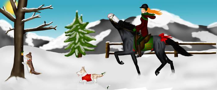 A White Christmas Hunt