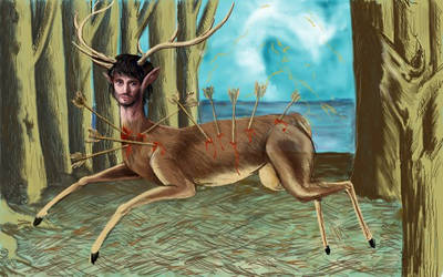 Little will deer by GleeNorto