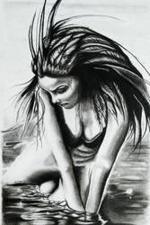 Woman Over the Water