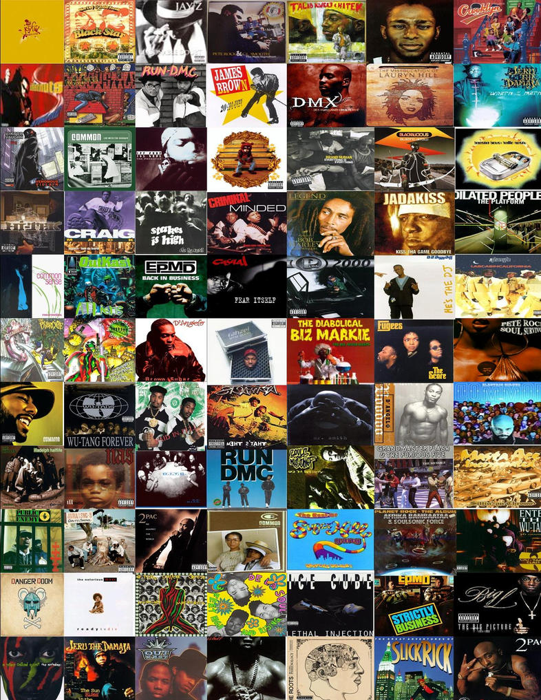 Classic hip hop albums by scottyb902 on deviantart for Classic house albums 90s