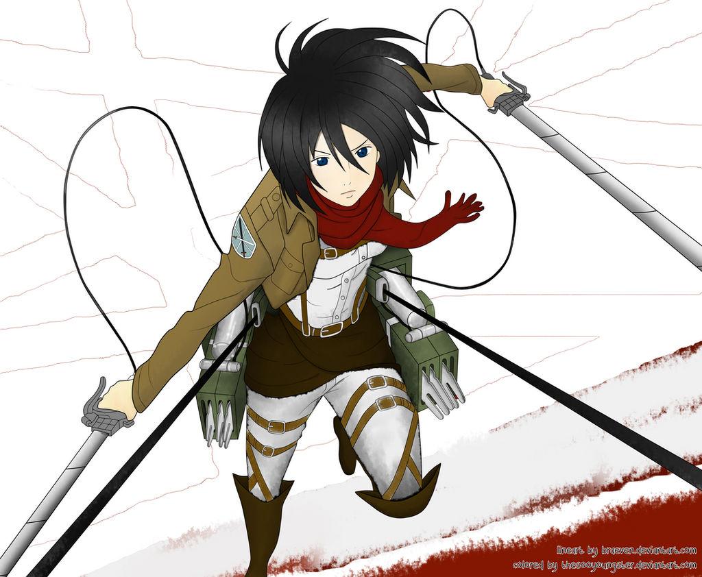 Mikasa Ackerman [Shingeki No Kyojin]