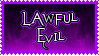 Lawful Evil Alignment Stamp by AllenRavenix