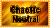 Chaotic Neutral Alignment Stamp by AllenRavenix