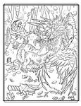 Griffin Coloring Page II