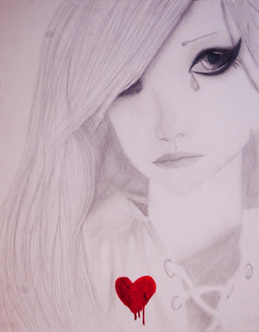 broken hearted by artdrea on deviantart