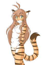 Long-Haired Flora by Twokinds