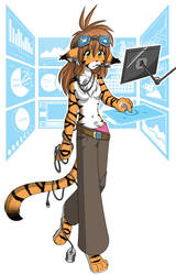 Tech Kitty by Twokinds
