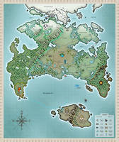 Twokinds World Map