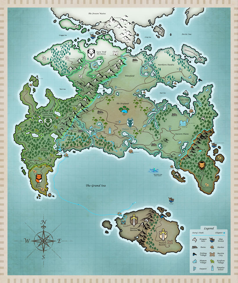 Twokinds world map by twokinds on deviantart twokinds world map by twokinds gumiabroncs Image collections