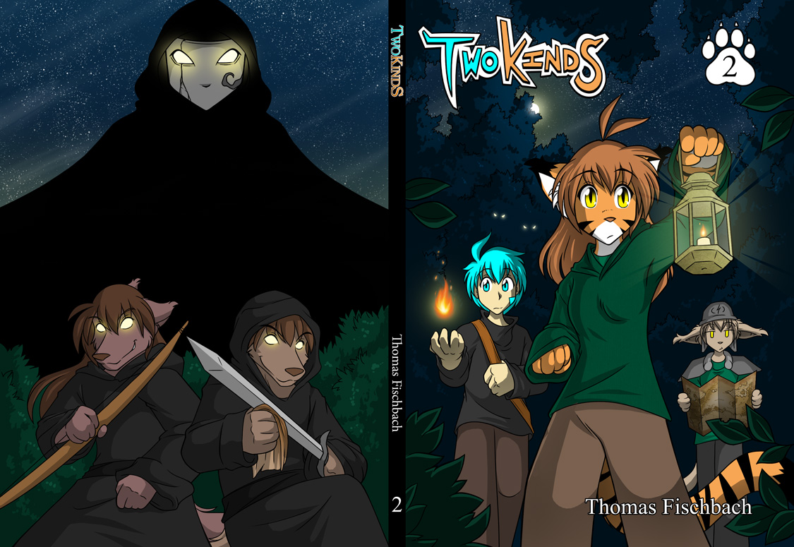 Twokinds Book Two Full Cover by Twokinds