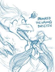 Sketchithon 06 - Pranked the Wrong Basitin