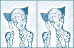 Sketchithon 13 - Khajiit Caress