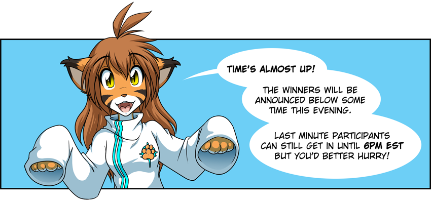 Twokinds Contest is Almost Over by Twokinds