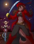 Pirate Natani and her Basitin Wench