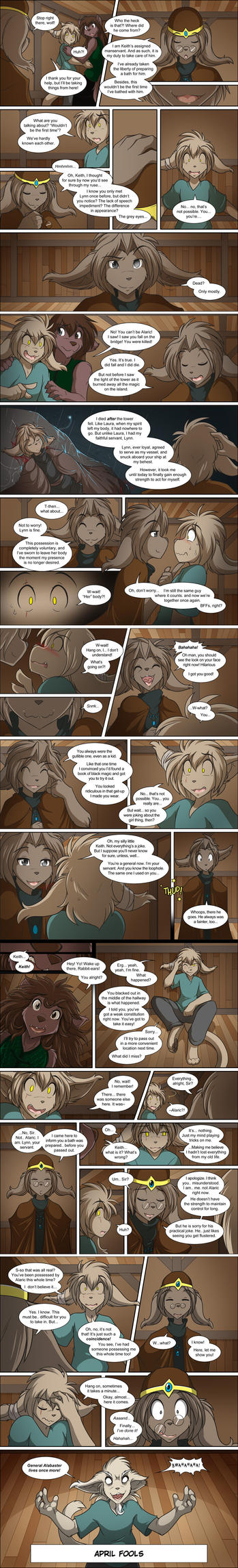 The Entire April Fools Saga 2014 by Twokinds