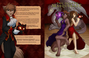 The Dragon Masquerade: Cover