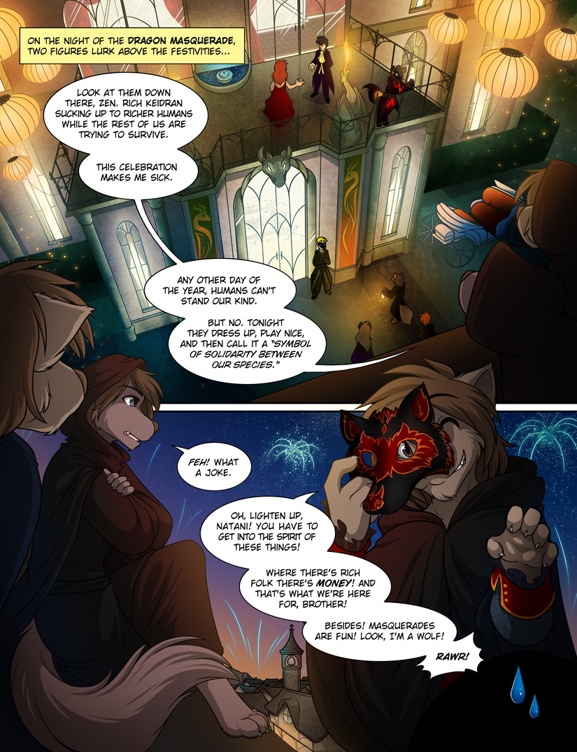 The Dragon Masquerade: Preview (1/4) by Twokinds