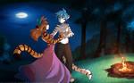 Moonlit Tiger Dance
